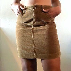 GAP Jeans Corduroy Pencil Skirt